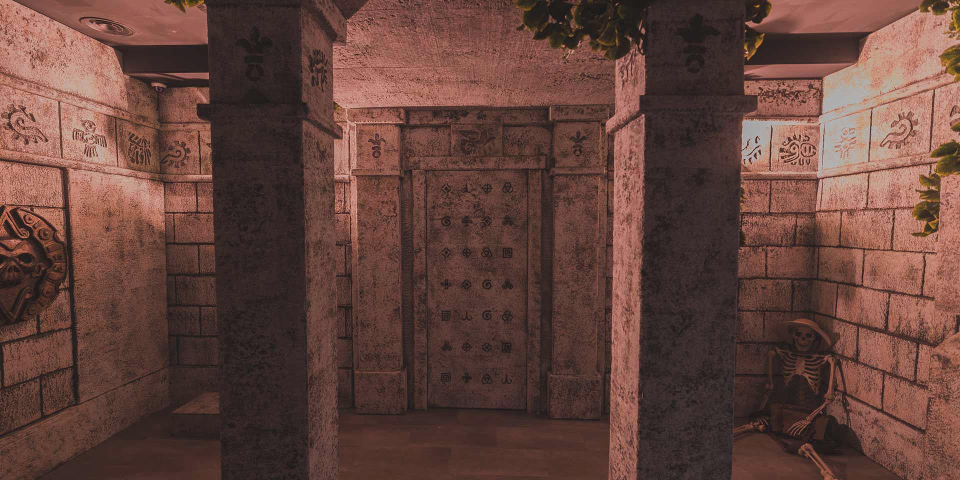 Forbidden Temple Of Montezuma Roma Game Over Escape